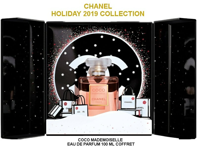 美容・コスメ・香水, 香水・フレグランス CHANEL HOLIDAY 2019 COLLECTIONCOCO MADEMOISELLE EAU DE PARFUM COFFRET 100ml5