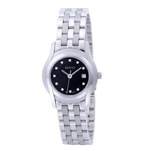 GUCCIYA55504L12P-BLKグッチ時計Gクラスレディース腕時計リストウォッチ