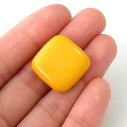 アクリルビーズパーツダイヤ(1個)イエロー├アクリル樹脂ビーズアクセサリーパーツアクセサリーパーツブレスレットピアスイヤリングネックレスワンポイント手芸資材素材┤