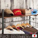 【Radi】ラディシリーズ 突っ張り壁面間仕切りラック幅90×奥行30...