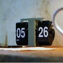 FLIP CLOCK Olive/フリップクロック【時計壁掛け置時計パタパタインダストリアル男前西海岸インテリアかわいいおしゃれ壁面】
