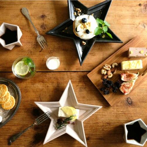 Twinkle Star Plate Ssize/トゥインクルスタープレート【プレート お皿 星 スター カフェ カワイイ 贈り物 ギフト おしゃれ かわいい】