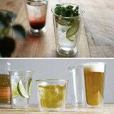 CAST ダブルウォール ビアグラス【グラス kinto ダブルウォール ロックグラス カフェ 耐熱グラス ガラス コーヒー ワイングラス シャンパングラス 】