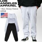 ロサンゼルスアパレル LOS ANGELES APPAREL 14オンス ヘビー スウェットパンツ (HF-04) 100% コットン ロスアパ losangeles apparel パンツ