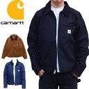 CARHARTT カーハート デトロイトジャケット 103828 ショートジャケット ブラウンダック ブラックダック US企画