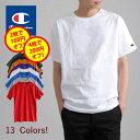 【更に2枚で100円オフ、4枚で200円オフ】CHAMPION チャンピオン メンズ 無地 半袖 tシャツ 大きいサイズ T-SHIRT Tシャツ ロゴ付き ワンポイントロゴ レディース ユニセックス・・・