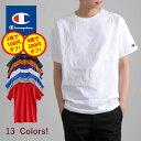 【更に2枚で100円オフ、4枚で200円オフ】CHAMPION チャンピオン メンズ 無地 半袖 tシャツ 大きいサイズ T-SHIRT Tシャツ ロゴ付き ワンポイントロゴ レディース ユニセックス