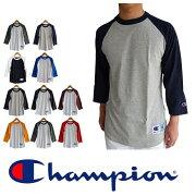 レビュー クーポン チャンピオン ラグラン ベースボール Tシャツ