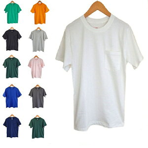 【メール便は送料無料♪】無地 ポケット tシャツHANES BEEFY ヘインズ ビーフィー
