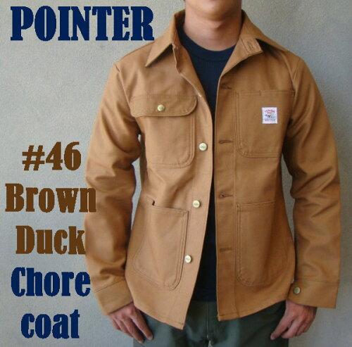 POINTER BRAND ポインターブランド#46 CHORE COAT チ...
