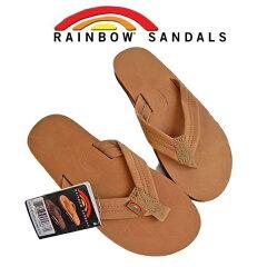 【レビューを書いて、バンダナプレゼント。】RAINBOW SANDALS301 シングル レイヤー アーチレインボーサンダル ALTS レザーサンダルRAINBOW SANDALビーチサンダル ビーサン