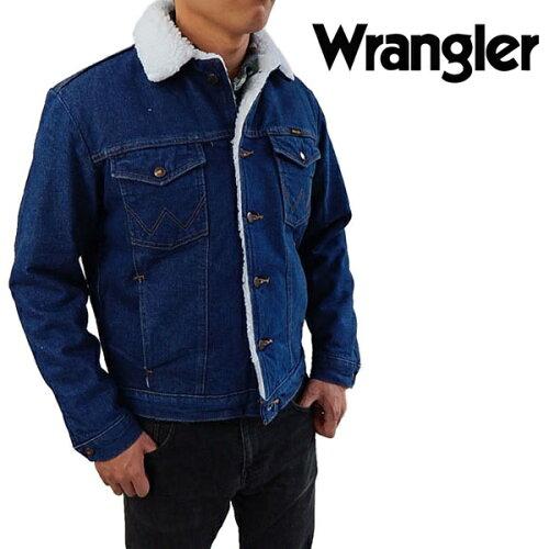 WRANGLERラングラー ボア付き Gジャン 74255PWジージャ...