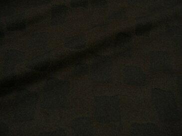 145cm巾♪【 2.6m着分で 7,800円 】♪日本製 スクエア アンゴラウールシャギー 生地 ♪ 黒×コゲ茶 ♪≪ 激安 生地 服地 布地 布 ≫【 宅配便のみです(メール便不可) 】 s7ke093 b