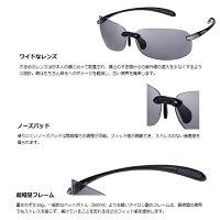 【SWANS/スワンズ】Airless-BeansSABE-0051(BKSL)884153偏光レンズサングラススポーツサングラス偏光サングラス超軽量グラスエアレスシリーズ