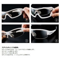 【SWANS/スワンズ】STRIX・I-Mレンズ交換可能タイプサングラススポーツサングラスミラーレンズ