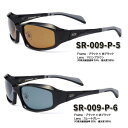 【STORMRIDER/ストームライダー】SR-009-P スポーツカーブタイプII ブラックエディション ハイカーブ仕様 偏光サングラス 偏光レンズ サングラス