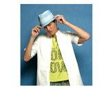【queNere/カーネル】QNS109BSOWメンズ男性用帽子ハット春夏用