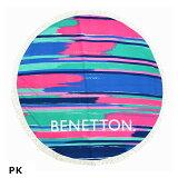 【BENETTON/ベネトン】ラウンドタオル227-188円型丸型たおる大判タオルレディスガールズ大人子供BENETTON227188