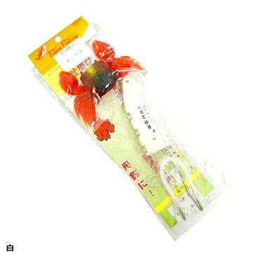 【宝福印/HOUFUKUSIRUSI】カニ付たこ仕掛け(おもり固定型) 大 30号 仕掛 針 たこ釣り