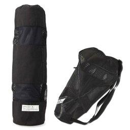 【DANSKIN/ダンスキン】DA991508 メッシュヨガマットケース ブラック (K) yoga バッグ マットバッグ
