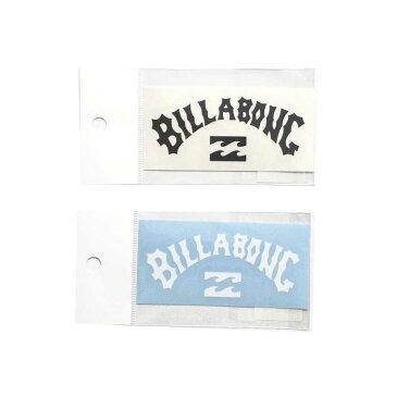 【BILLABONG/ビラボン】B00-S33 W80mm ステッカー B00S33 ブラック ホワイト ロゴ
