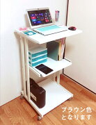 スタンディングデスク ブラウン コンセント オフィス スペース スタンディング パソコン