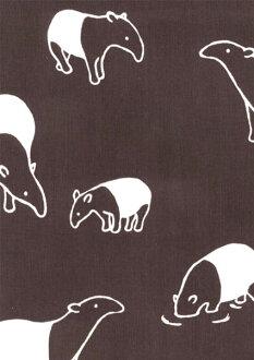 手毛巾: 馬來貘 Tenugui 毛巾