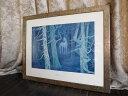 東山魁夷 白馬の森 絵画 複製画