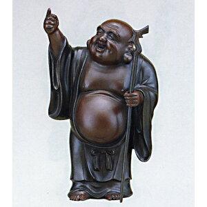 आशीर्वाद Shichifukujin Tsukimibukuro नंबर 10 कोशी Sakaeyama फर्श लकड़ी की मूर्ति जापानी माल मुफ्त शिपिंग