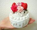 【あす楽】送料無料 プリザーブドフラワー 誕生日 バースデー フラワーケーキ 誕生日 花 母の日 プ ...