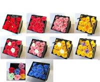 プリザーブドフラワー/薔薇のフラワーBOX/誕生日/プレゼント/結婚祝い/結婚記念/記念/プロポーズ/高級感/フラワーBOX