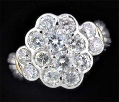 P/Kダイヤモンド1.52ctリング《送料無料!》