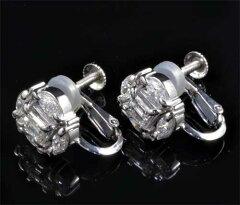 Ptダイヤモンド1.12ctプラチナイヤリング《送料無料!》
