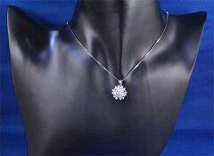 Ptダイヤモンド1.01ctプラチナペンダントネックレス《送料無料!》