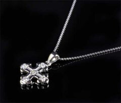 K18WGダイヤモンド0.23ctホワイトゴールドペンダントネックレス《送料無料!》
