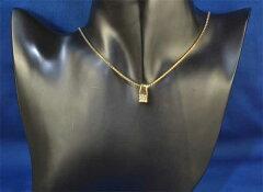 K18プリンセスカットダイヤモンド0.70ct18金ペンダントネックレス《送料無料!》
