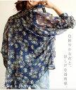 知的な小花柄で涼しげ夏スタイル トップス シャツ 柄物 7分袖 花柄 ...