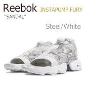 【送料無料】Reebok INSTAPUMP FURY Sandal / Steel/White【リーボック】【ポンプフューリー】【V69440】 シューズ
