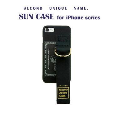 iPhone XS ケース iPhone XR ケース iPhone 8 ケース 韓国 ベルト ケース iPhone XS MAX iPhone X iPhone 7 iPhone 8 Plus iPhone 6s iPhone SE SECOND UNIQUE NAME LEATHER CARD ベルト ケース カバー アイフォン メーカー正規商品 セカンドユニークネーム お取り寄せ