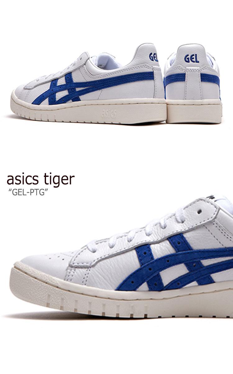 アシックスタイガー スニーカー asics tiger メンズレディース GEL-PTG ゲルポイントゲッター BLUE ブルー FLAC8F3X04 シューズ