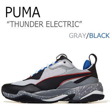 プーマ スニーカー PUMA メンズ レディース THUNDER ELECTRIC サンダーエレクトリック GRAY グレー BLACK ブラック 36799602 PKI36799602 シューズ 【中古】未使用品