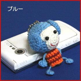 ハンドメイドストラップお猿の編みぐるみストラップ(3タイプ)アジアン雑貨BCDSHOP