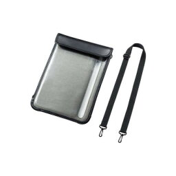 ショルダーベルト付き13インチタブレットPCケース(耐衝撃・防塵・防滴タイプ) PDA-TAB18【送料無料】