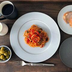 せっ器リム平皿白26cm和食器日本製四日市ストーンウエアー電子レンジ可オーブン可食洗機可ホワイト色SyuRoシュロギフトおすすめ人気