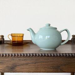 ティーポットTeapot2カップ450mlストレーナー付ミント色陶器製ステンレス製イギリスプライスアンドケンジントンPrice&Kensingtonトレンドおすすめ人気