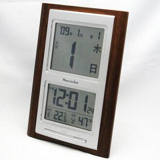Radio digital daily watch 2006 show (SG-SKR101BR) (logging) | Watch | clocks | clocks | wooden clock
