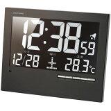 掛け時計自動明るさ調整付電波デジタル時計掛置兼用(AD-AK-62)