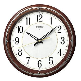 精工 (Seiko) 可見時鐘收音機時鐘類比夜 KX396B