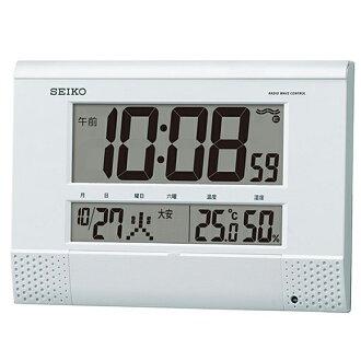 精工 (Seiko) 時鐘收音機時鐘數位時鐘 SQ435W