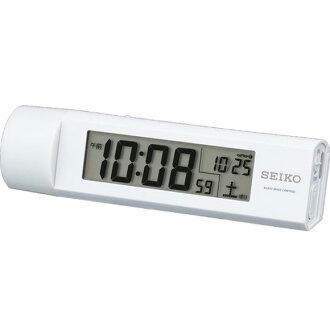 精工 (Seiko) 時鐘手電筒筒用無線電時鐘 SQ765W